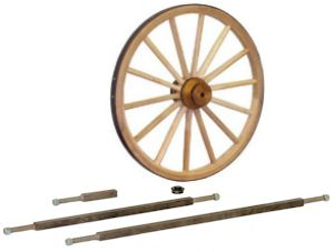 Wagon Wheels and Axles