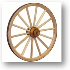 Decorative Wagon Wheels For Sale